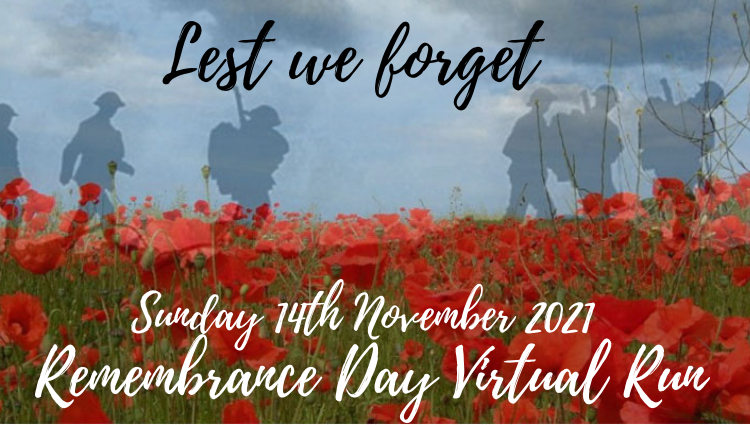 The Running Bug, THE RUNNING BUG - Remembrance Sunday Virtual Run 2021 - online entry by EventEntry