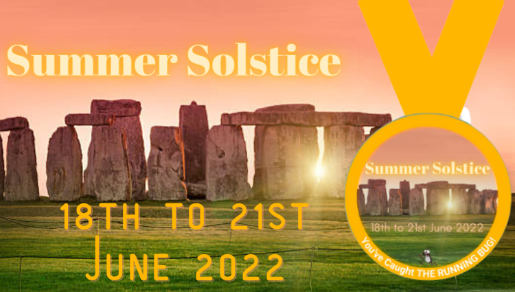 The Running Bug, THE RUNNING BUG - Summer Solstice 2022 Virtual Challenge 2022 - online entry by EventEntry