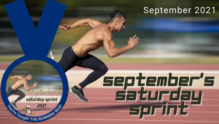 The Running Bug, THE RUNNING BUG - September's Saturday Sprint Virtual Challenge - online entry by EventEntry