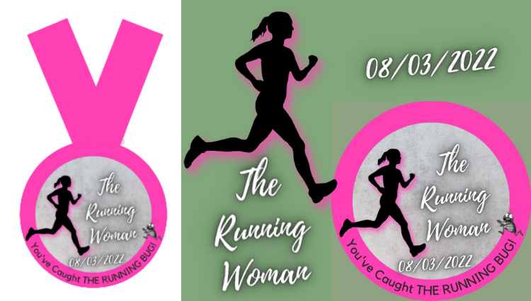 The Running Bug, THE RUNNING BUG - The Running Woman Virtual Challenge 2022 - online entry by EventEntry
