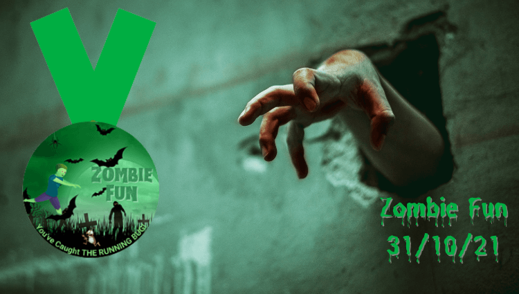 The Running Bug, THE RUNNING BUG - Zombie Fun Challenge - online entry by EventEntry