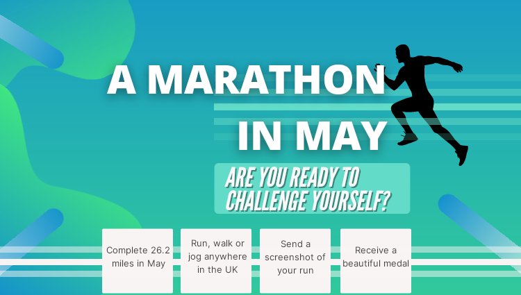 The Running Bug, THE RUNNING BUG - A Marathon in May - online entry by EventEntry