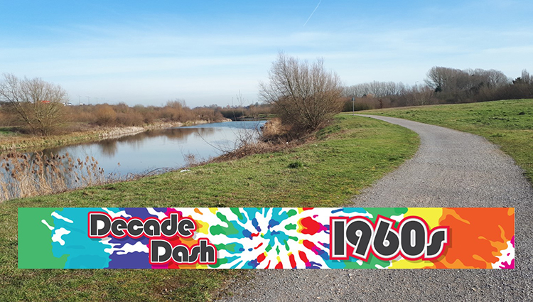 Running Miles Ltd, Decade Dash 60's - online entry by EventEntry