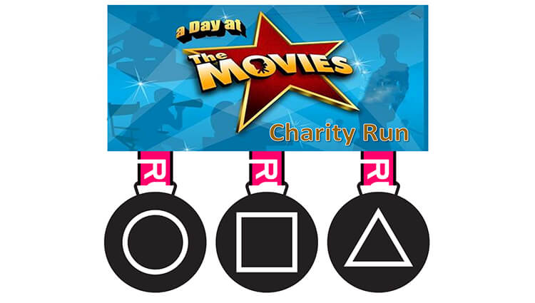 Phoenix Running Ltd, PHOENIX - Squid Run & Day at the Movies Charity Run 2021 - online entry by EventEntry