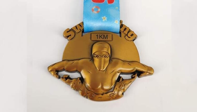 Virtual Challenge Medals, VCM - 1K Swim Challenge - online entry by EventEntry