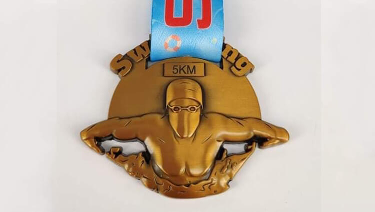 Virtual Challenge Medals, VCM - 5K Swim Challenge - online entry by EventEntry