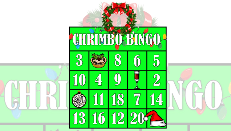 See York Run York, Chrimbo Bingo - VIRTUAL - online entry by EventEntry