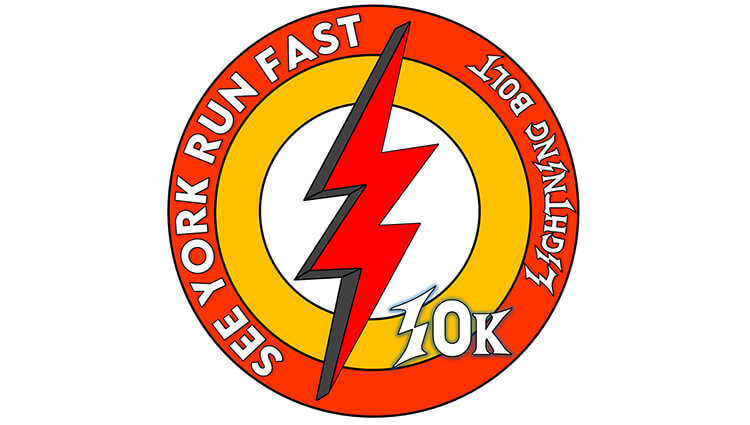 See York Run York, See York Run York Lightning Bolt 10k Challenge - online entry by EventEntry