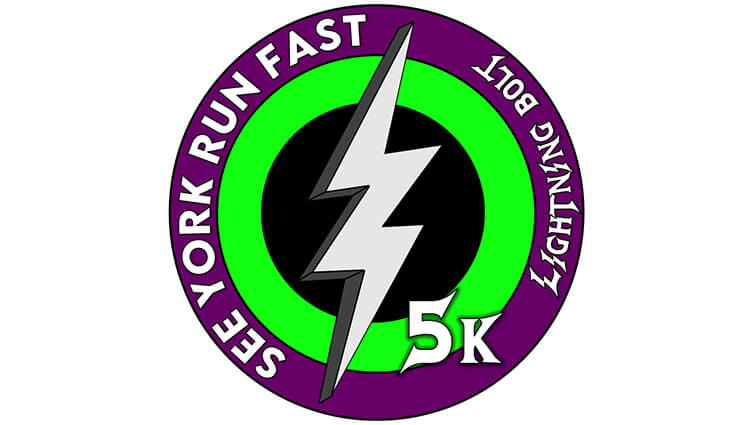 See York Run York, See York Run York Lightning Bolt 5k Challenge - online entry by EventEntry
