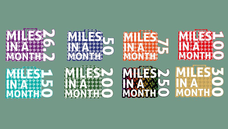 Zig Zag Running, Zig Zag Running Monthly Virtual Challenge - online entry by EventEntry