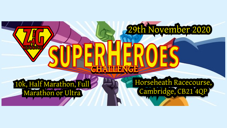 Zig Zag Running, ZigZag - Superheroes Challenge - online entry by EventEntry