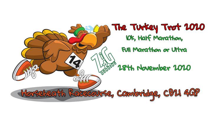 Zig Zag Running, ZigZag - Turkey Trot Challenge - online entry by EventEntry